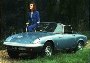 Lotus Elan - Diana Rigg - The Avengers