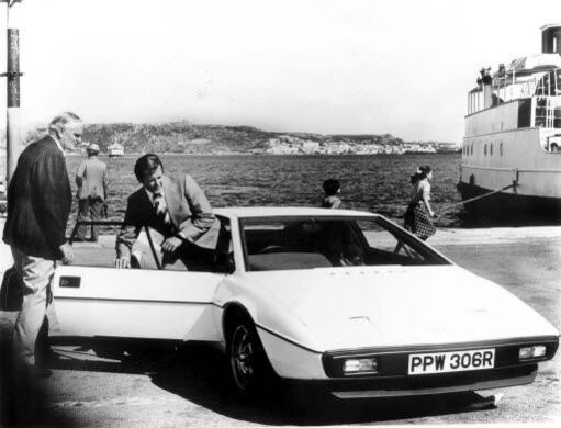 Lotus Esprit van James Bond