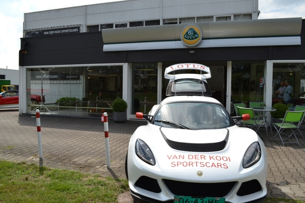 Exige S voor showroom