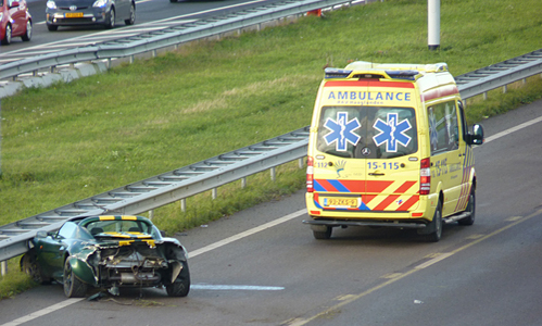 Lotus Elise Crash A4