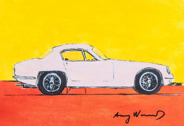 Andy Warhol Lotus Elan